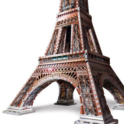 Wrebbit W3d 2009 Puzzle 3d Eiffel Tower 816 Pezzi 0 1