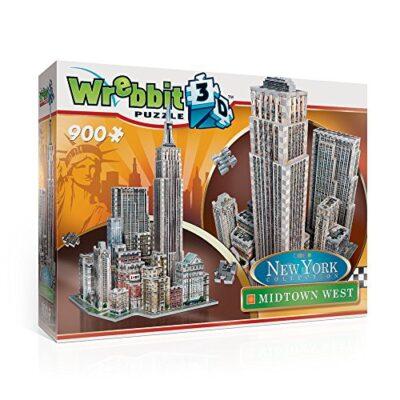 Wrebbit W3d 2010 Puzzle 3d Midtown West 900 Pezzi 0