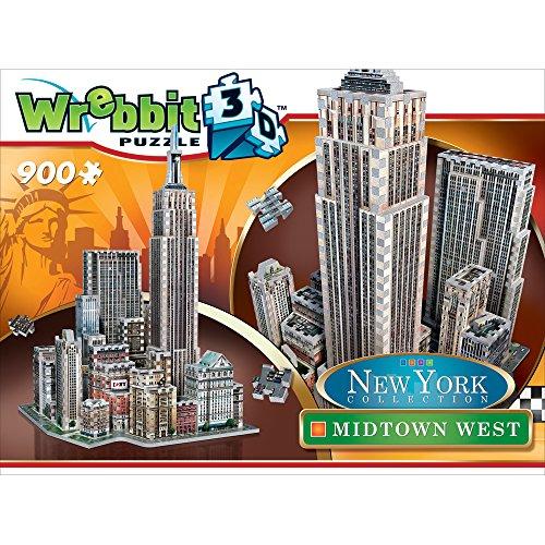 Wrebbit W3d 2010 Puzzle 3d Midtown West 900 Pezzi 0 5