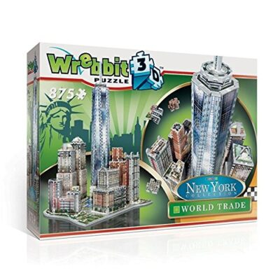 Wrebbit W3d 2012 Puzzle 3d World Trade 875 Pezzi 0