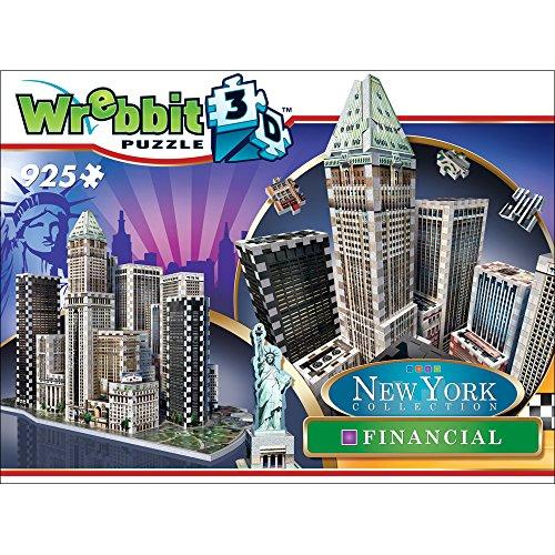 Wrebbit W3d 2013 Puzzle 3d Financial 925 Pezzi 0 5