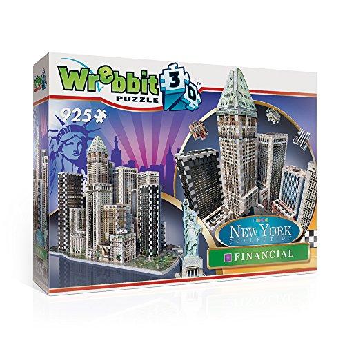 Wrebbit W3d 2013 Puzzle 3d Financial 925 Pezzi 0