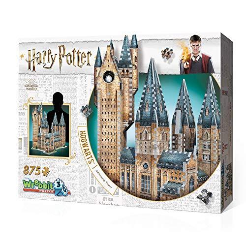 Wrebbit W3d 2015 Puzzle 3d Hogwarts Astronomy Tower 875 Pezzi 0 4