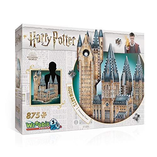 Wrebbit W3d 2015 Puzzle 3d Hogwarts Astronomy Tower 875 Pezzi 0