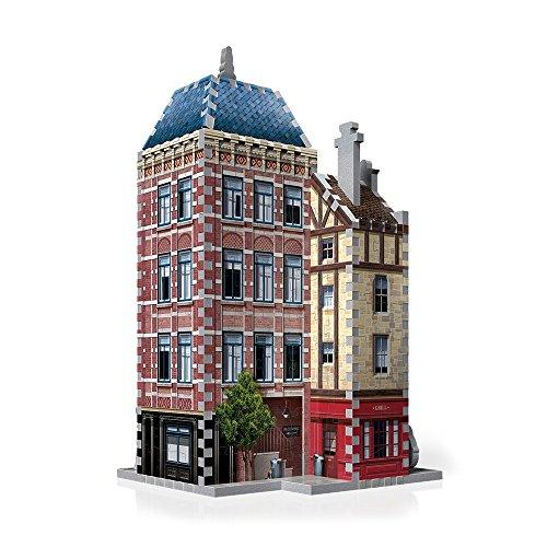 Wrebbit W3d 501 Puzzle 3d Urbania Hotel 295 Pezzi 0 0