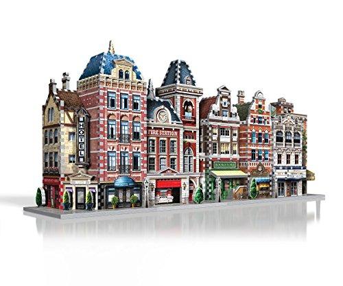Wrebbit W3d 501 Puzzle 3d Urbania Hotel 295 Pezzi 0 4