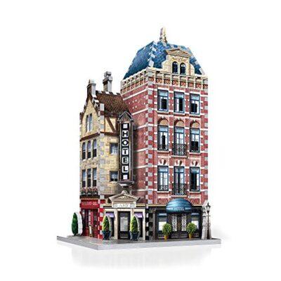 Wrebbit W3d 501 Puzzle 3d Urbania Hotel 295 Pezzi 0