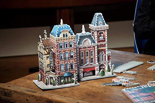 Wrebbit W3d 505 Puzzle 3d Urbania Firehouse 0 0