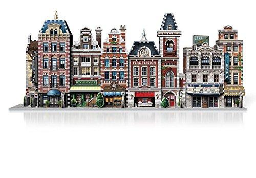 Wrebbit W3d 505 Puzzle 3d Urbania Firehouse 0 4