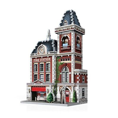 Wrebbit W3d 505 Puzzle 3d Urbania Firehouse 0