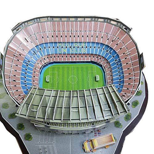 Zeye 3d Puzzle Nou Camp Stadium Barcelona Fc 0 1