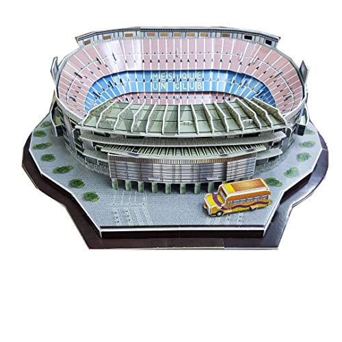 Zeye 3d Puzzle Nou Camp Stadium Barcelona Fc 0 2