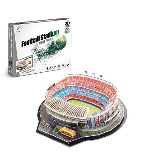 Zeye 3d Puzzle Nou Camp Stadium Barcelona Fc 0