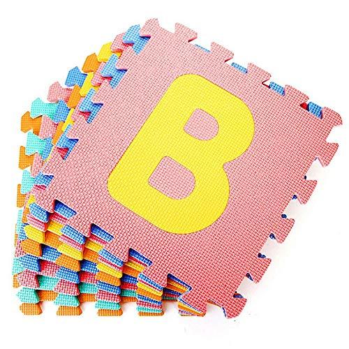 Dreamsbox Tappeto A Puzzle In Schiuma Per Il Gioco Dei Bambini 10 Pezzi In Eva Piastrelle In Schiuma Multicolore 0 1