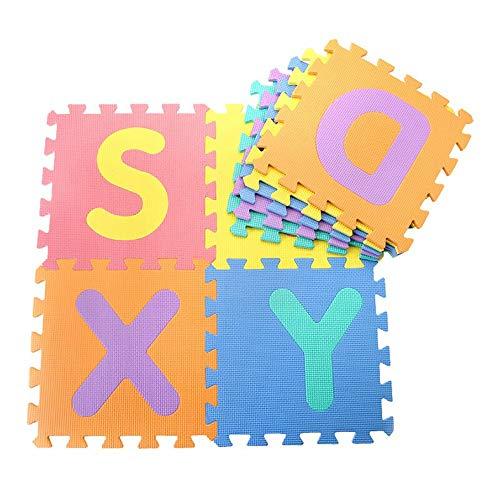 Dreamsbox Tappeto A Puzzle In Schiuma Per Il Gioco Dei Bambini 10 Pezzi In Eva Piastrelle In Schiuma Multicolore 0