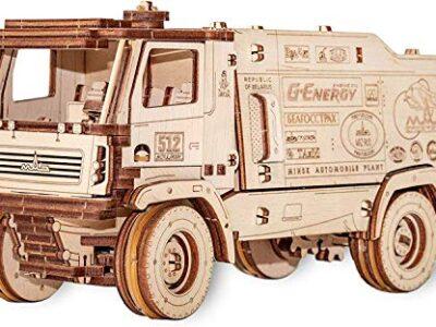 Ewa Eco Wood Art Maz 5309rr Amion Da Corsa Camion 5309rr Puzzle Meccanico Tridimensionale Puzzle Per Adulti E Adolescenti Collezione Senza Colla 278 Dettagli Colore Natura 0