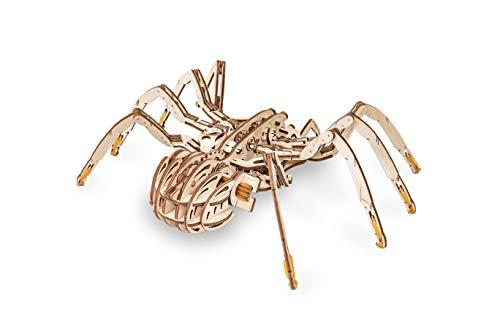 Ewa Eco Wood Art Spider Ragno Meccanico Tridimensionale Puzzle Per Adulti E Adolescenti Collezione Senza Colla 293 Dettagli Colore Natura 0 1
