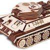 Ewa Eco Wood Art Tank T 34 85 Serbatoio T 34 85 Puzzle Meccanico Tridimensionale Puzzle Per Adulti E Adolescenti Collezione Senza Colla 965 Dettagli Colore Natura 0