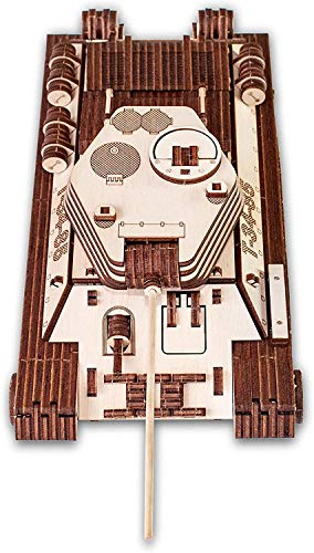 Ewa Eco Wood Art Tank T 34 85 Serbatoio T 34 85 Puzzle Meccanico Tridimensionale Puzzle Per Adulti E Adolescenti Collezione Senza Colla 965 Dettagli Colore Natura 0 3