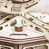 Ewa Eco Wood Art The Globe Brown Globo Meccanico Tridimensionale Puzzle Per Adulti E Adolescenti Collezione Senza Colla 393 Dettagli Colore Marrone 393 0 3