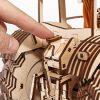 Ewa Eco Wood Art Tractor Trattore Meccanico Tridimensionale Puzzle Per Adulti E Adolescenti Collezione Senza Colla 358 Dettagli Colore Natura 0 2