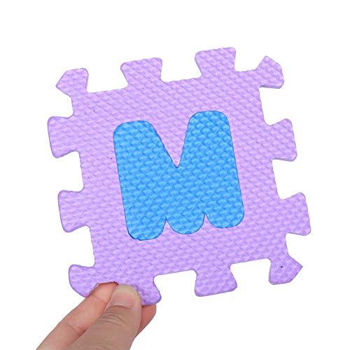 Estink Tappeto A Puzzle In Schiuma Per Il Gioco Dei Bambini 36 Pezzi Tappetino Puzzle In Eva Tappeto Da Gioco Per Bambini Multicolore 12 X 12 Cm 0 1