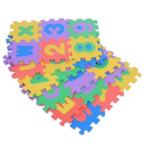 Estink Tappeto A Puzzle In Schiuma Per Il Gioco Dei Bambini 36 Pezzi Tappetino Puzzle In Eva Tappeto Da Gioco Per Bambini Multicolore 12 X 12 Cm 0