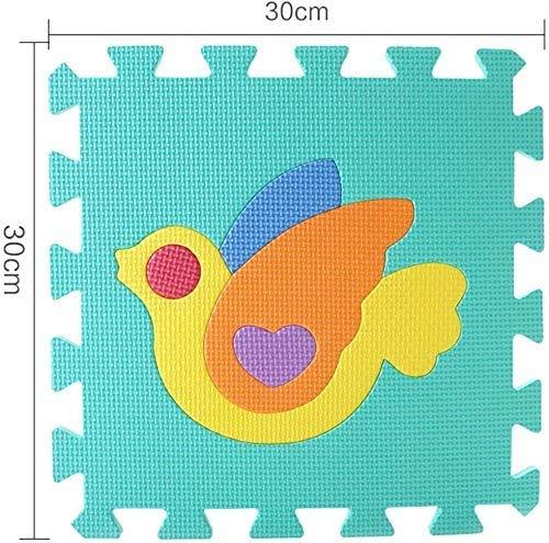 Gutsbox Tappeto Puzzle Lettere 10pcs 30cm X30cm Schiuma Morbido Eva Tappetone Morbidone Bambini Tapetto Per Bimbi Gioca Ai Tappetini Per Puzzle 0 0