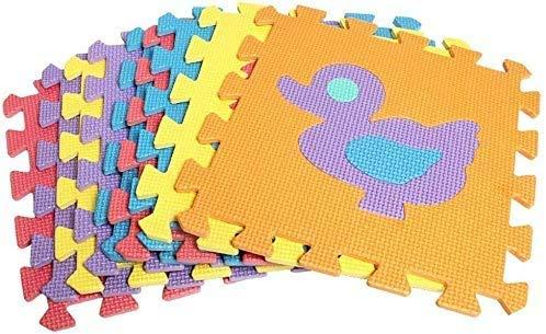 Gutsbox Tappeto Puzzle Lettere 10pcs 30cm X30cm Schiuma Morbido Eva Tappetone Morbidone Bambini Tapetto Per Bimbi Gioca Ai Tappetini Per Puzzle 0 1