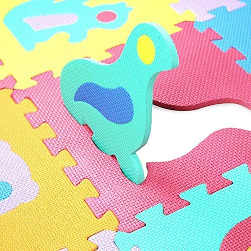 Gutsbox Tappeto Puzzle Lettere 10pcs 30cm X30cm Schiuma Morbido Eva Tappetone Morbidone Bambini Tapetto Per Bimbi Gioca Ai Tappetini Per Puzzle 0 2