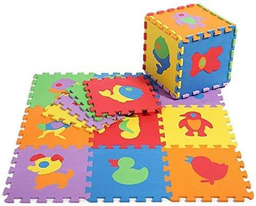 Gutsbox Tappeto Puzzle Lettere 10pcs 30cm X30cm Schiuma Morbido Eva Tappetone Morbidone Bambini Tapetto Per Bimbi Gioca Ai Tappetini Per Puzzle 0 3