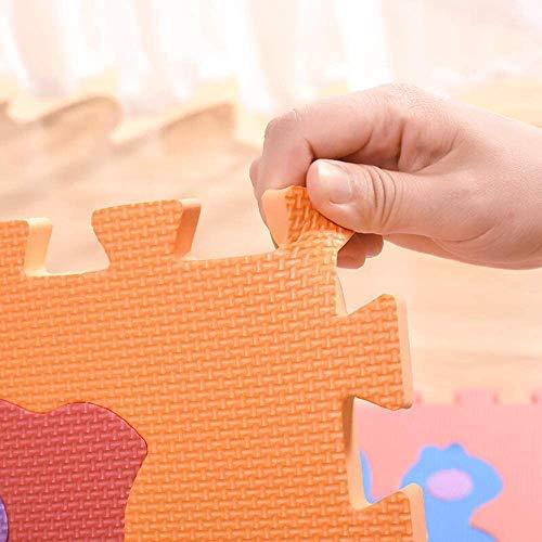 Gutsbox Tappeto Puzzle Lettere 10pcs 30cm X30cm Schiuma Morbido Eva Tappetone Morbidone Bambini Tapetto Per Bimbi Gioca Ai Tappetini Per Puzzle 0 4