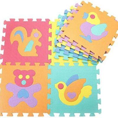 Gutsbox Tappeto Puzzle Lettere 10pcs 30cm X30cm Schiuma Morbido Eva Tappetone Morbidone Bambini Tapetto Per Bimbi Gioca Ai Tappetini Per Puzzle 0