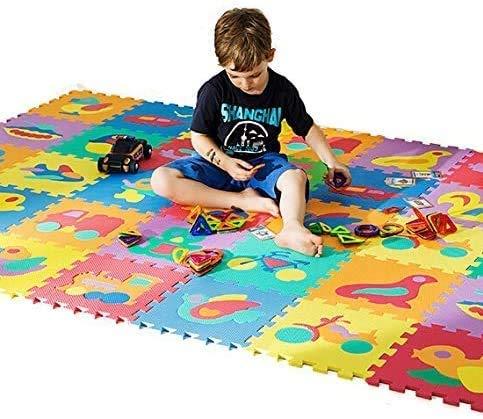 Gutsbox Tappeto Puzzle Lettere 10pcs 30cm X30cm Schiuma Morbido Eva Tappetone Morbidone Bambini Tapetto Per Bimbi Gioca Ai Tappetini Per Puzzle 0 5