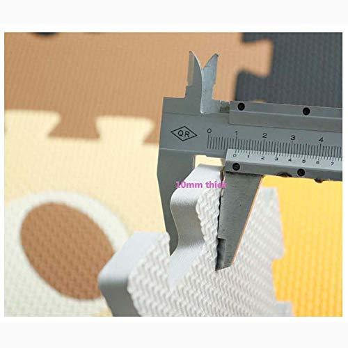 Homieco Tappetino Per Bambini Piastrella Puzzle Gioca Al Tappeto Sicuro Tappetini Da Pavimentoper I Bambini Esercizio Di Ginnasticatype 01 0 2
