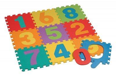 Innova Tappeto Puzzle Numeri 10 Pezzi 0