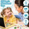 Jojoin Puzzle Magnetico Legno Double Face Pittura Tema Animali E Foreste Puzzle Con Lavagna Per Bambini 3 4 5 Anni Presente Immaginazione 0 3