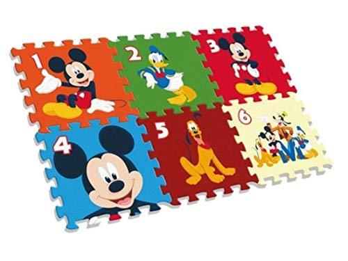 Kids Tappeto A Puzzle Eva Da Pavimento 90 X 60 Cm Multicolore Wd20122 0