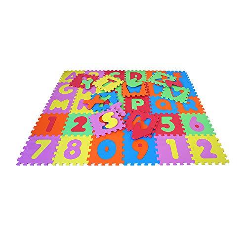 Knorrtoys 21004 Puzzle Da 86 Pezzi Tappetino Da Gioco Per Bambini Gioco Tappeto Gioco Schiuma Matte Matte Bunt 0 0