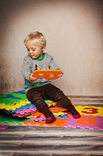 Knorrtoys 21004 Puzzle Da 86 Pezzi Tappetino Da Gioco Per Bambini Gioco Tappeto Gioco Schiuma Matte Matte Bunt 0 1