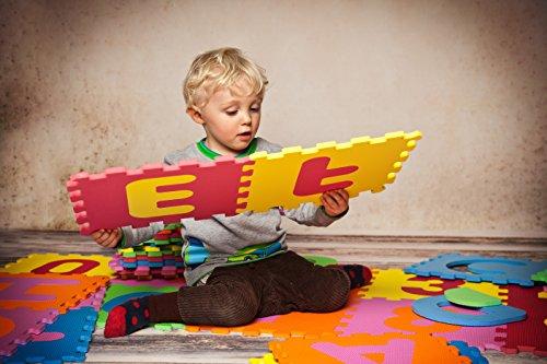 Knorrtoys 21004 Puzzle Da 86 Pezzi Tappetino Da Gioco Per Bambini Gioco Tappeto Gioco Schiuma Matte Matte Bunt 0 2