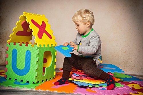 Knorrtoys 21004 Puzzle Da 86 Pezzi Tappetino Da Gioco Per Bambini Gioco Tappeto Gioco Schiuma Matte Matte Bunt 0 3