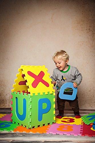 Knorrtoys 21004 Puzzle Da 86 Pezzi Tappetino Da Gioco Per Bambini Gioco Tappeto Gioco Schiuma Matte Matte Bunt 0 4