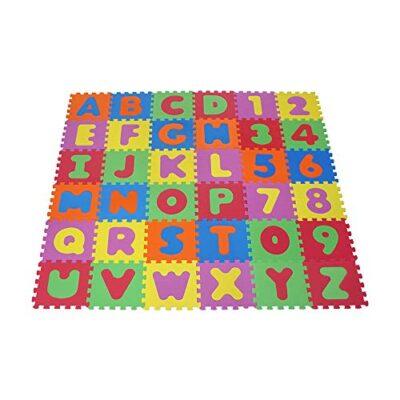 Knorrtoys 21004 Puzzle Da 86 Pezzi Tappetino Da Gioco Per Bambini Gioco Tappeto Gioco Schiuma Matte Matte Bunt 0