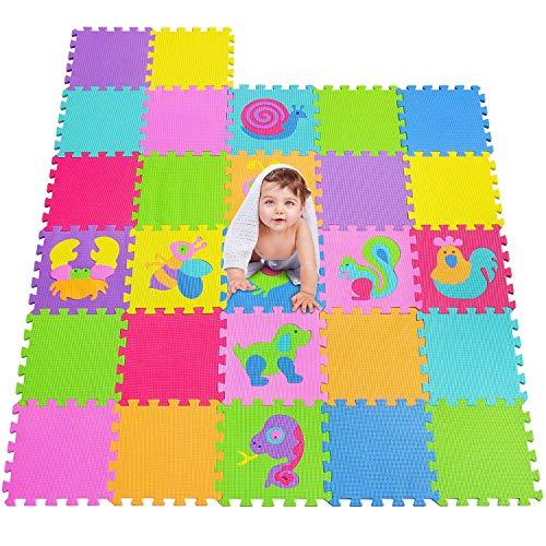 Mshen Tappetini Puzzle Con Certificato Ce E Certificazione Tuv In Soffice Schiuma Eva Tappeto Da Gioco Per Bambini Tappetino Puzzle 10cs18g300927 0