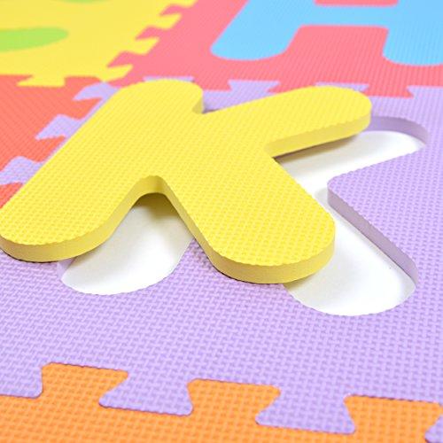 Puzzlestar Xxl 86 Pezzi Puzzle Tappeto Per Bambini In Eva Antiscivolo Il Grande Tappeto Gioco Puo Essere Montato Ogni Pezzo E 30x 30x 30x 30x 1cm Di Larghezza Tappeto Puzzle Con Numeri E Lettere 0 0