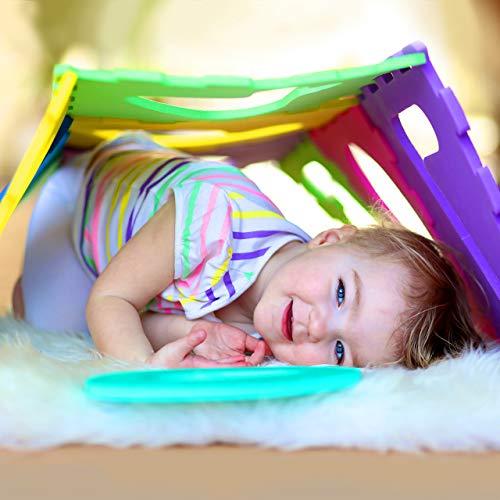 Relaxdays 10021531 Tappeto Puzzle Da Gioco Per Bambini 86 Pz Lettere E Numeri Tappetino In Gommapiuma Eva Lxp 180x 180 Cm Colorato 0 0