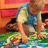 Relaxdays Tappeto Puzzle Con Dinosauri 9 Tasselli Tappetino Per Bambini Atossico Gommapiuma Eva 90 X 90 Cm Colorato Multicolore 9 Pezzi 10031433 0 3