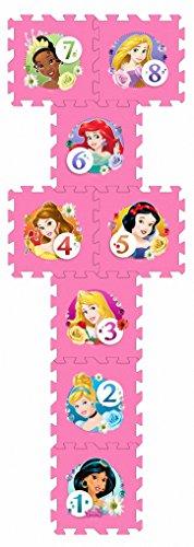 Stamp Tp880001 Puzzle Di Pavimento Tappeto Schiuma Marelle Princess 8 Pezzi 0 0