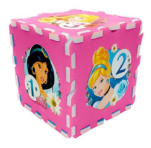 Stamp Tp880001 Puzzle Di Pavimento Tappeto Schiuma Marelle Princess 8 Pezzi 0 1